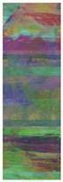 """Jeweled Stripes I by Ricki Mountain - 13"""" x 37"""""""