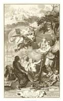 "Atlas Historique by Bernard Picart - 26"" x 42"", FulcrumGallery.com brand"