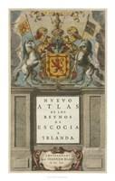 "Nuevo Atlas by Johannes Blaeu - 28"" x 44"""