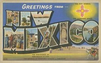 Greetings from New Mexico - various sizes