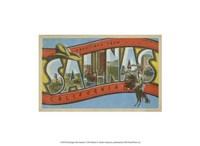 """Greetings from Salinas - 13"""" x 10"""""""
