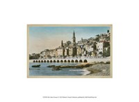 "The Cote d'Azur I - 13"" x 10"" - $10.49"