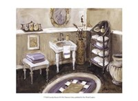 Lavender Retreat II Fine Art Print