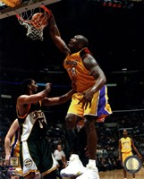 Shaquille O'Neal Action Fine Art Print