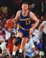 Chris Mullin 1991 Action Fine Art Print