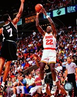 Clyde Drexler 1994-95 Action Fine Art Print
