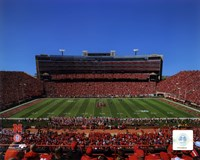 University of Nebraska Cornhuskers Memorial Stadium 2012 Fine Art Print