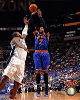 Carmelo Anthony 2012-13 Action in basketball Fine Art Print