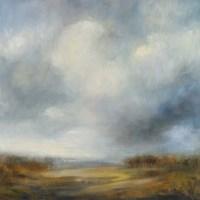 "Blue Light by Simon Addyman - 35"" x 37"""