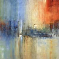 Blue Cascade Fine Art Print