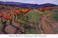 AUTUMN IN THE VINEYARD Fine Art Print