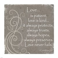 Love Quote Fine Art Print