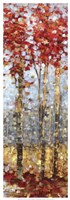 Crimson Woods II Fine Art Print