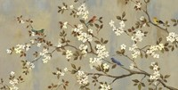 Conversation (Birds, Blossoms and Branches) Fine Art Print