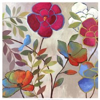 Floral Impressions I Fine Art Print