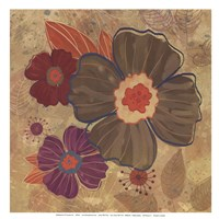 FALL FLOWERS II - MINI Fine Art Print