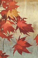 Maple Leaves I - mini Fine Art Print