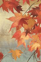 Maple Leaves II Fine Art Print