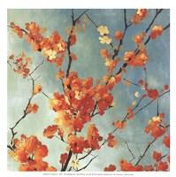 Orange Blossoms I - mini Fine Art Print