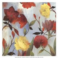 "Wildflowers II - mini by Asia Jensen - 13"" x 13"""