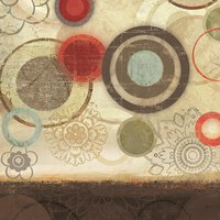 Colourful Elements I by Allison Pearce - various sizes - $16.99