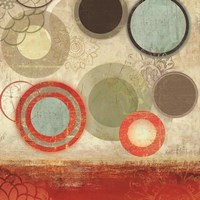 Colourful Elements II by Allison Pearce - various sizes - $16.99