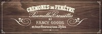 fancy Goods - brown Fine Art Print