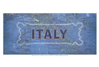 "Vintage Sign - Italy by Lev Raskolnikov - 19"" x 13"", FulcrumGallery.com brand"