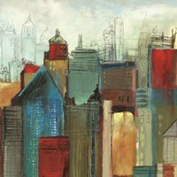 Sunlight City I by Tom Reeves - various sizes