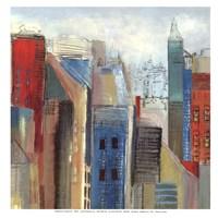 "Sunlight City II - mini by Tom Reeves - 13"" x 13"""
