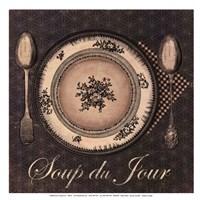 Soup du Jour - mini Fine Art Print
