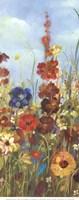 Meadow Florals I - Field Fine Art Print