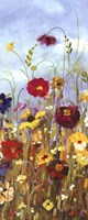 Meadow Florals I - Mini Fine Art Print
