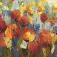 Meadow Flowers by Asia Jensen - various sizes - $53.49