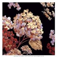 Velvet Hydrangeas II - Mini Fine Art Print