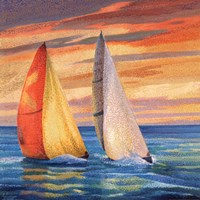 Match Race Fine Art Print