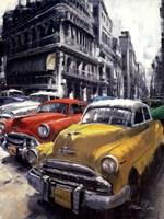 Havana Vintage Classic Cars I Fine Art Print