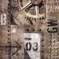 "Industrial I by Dylan Matthews - 20"" x 20"""