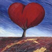 """Heart of the Earth by Donato Larotonda - 12"""" x 12"""", FulcrumGallery.com brand"""
