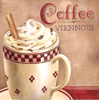Coffee Viennois Framed Print