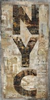 "NYC Vertical by Luke Wilson - 28"" x 54"""