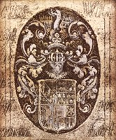 Coat of Arms I Fine Art Print