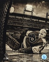 Bernie Parent 2012 Winter Classic Alumni Game Framed Print