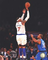 Carmelo Anthony 2012-13 shooting Fine Art Print