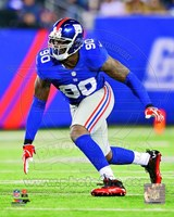 Jason Pierre-Paul 2012 Action Fine Art Print