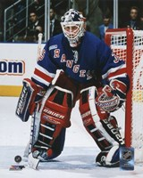 Mike Richter Action Fine Art Print