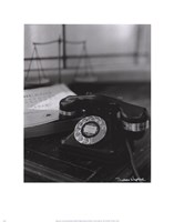 Telephone Fine Art Print