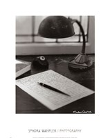 Notepad Fine Art Print