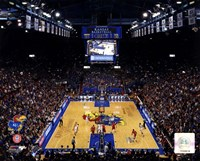 Allen Fieldhouse University of Kansas Jayhawks 2012 Fine Art Print