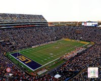 Tiger Stadium Louisiana State University Tigers 2012 Fine Art Print